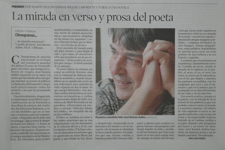 Heraldo de Aragón, 8 Feb 2018